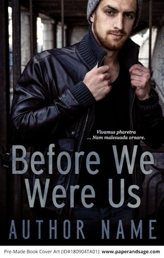 Pre-Made Book Cover ID#180904TA01 (Before We Were Us)