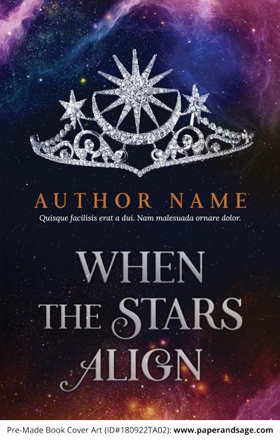 Pre-Made Book Cover ID#180922TA02 (When the Stars Align)