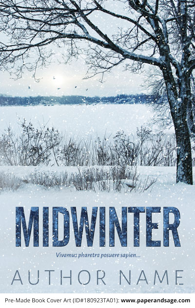 Pre-Made Book Cover ID#180923TA01 (Midwinter)