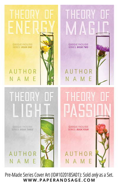 PreMade Series Covers ID#102018SA01 (Theory Series, Only Sold as a Set)