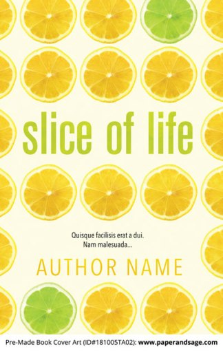 Pre-Made Book Cover ID#181005TA02 (Slice of Life)
