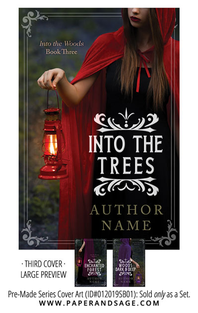 PreMade Series Covers ID#012019SB01 (Into the Woods, Only Sold as a Set)