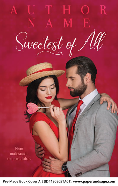 Pre-Made Book Cover ID#190203TA01 (Sweetest of All)