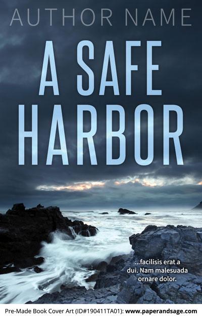 Pre-Made Book Cover ID#190411TA01 (A Safe Harbor)