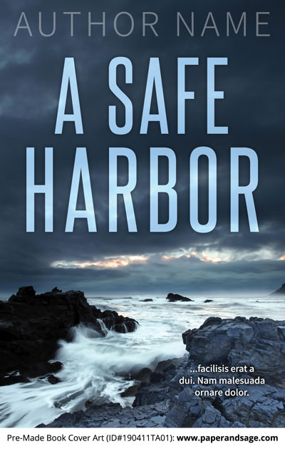 Pre-Made Book Cover ID#190411TA01 (A Safe Harbor)