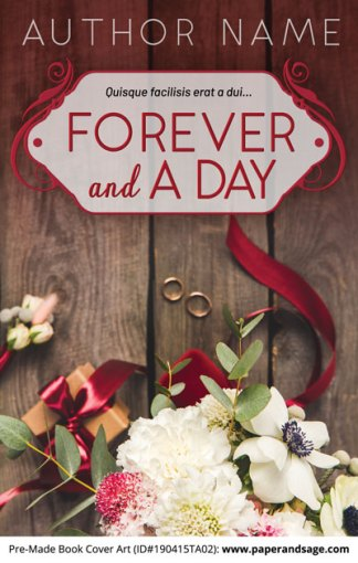 Pre-Made Book Cover ID#190415TA02 (Forever and a Day)