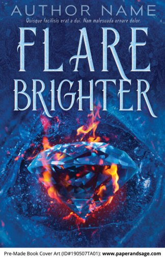 Pre-Made Book Cover ID#190507TA01 (Flare Brighter)