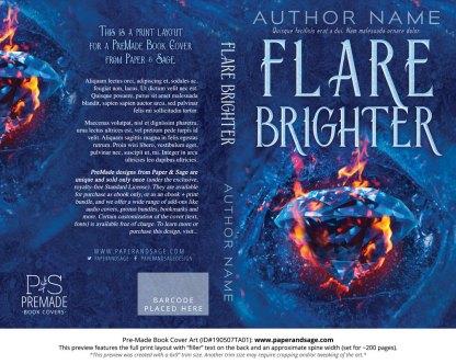 Pre-Made Book Cover ID#190507TA01 (Flare Brighter)