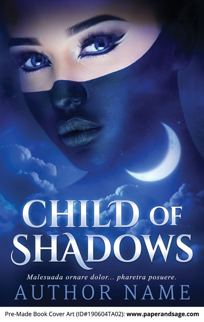 Pre-Made Book Cover ID#190604TA02 (Child of Shadows)
