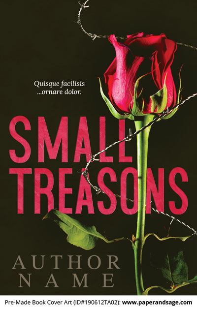 Pre-Made Book Cover ID#190612TA02 (Small Treasons)
