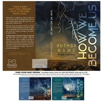 PreMade Series Covers ID#102019SA02 (Life After Series, Only Sold as a Set)