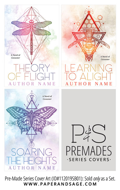 PreMade Series Covers ID#112019SB01 (Gossamer Series, Only Sold as a Set)
