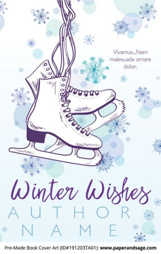 Pre-Made Book Cover ID#191203TA01 (Winter Wishes)