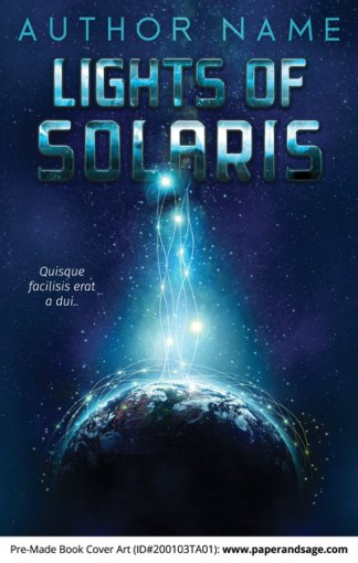 Pre-Made Book Cover ID#200103TA01 (Lights of Solaris)