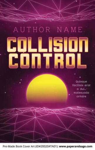 Pre-Made Book Cover ID#200204TA01 (Collision Control)