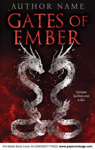 Pre-Made Book Cover ID#200211TA02 (Gates of Ember)