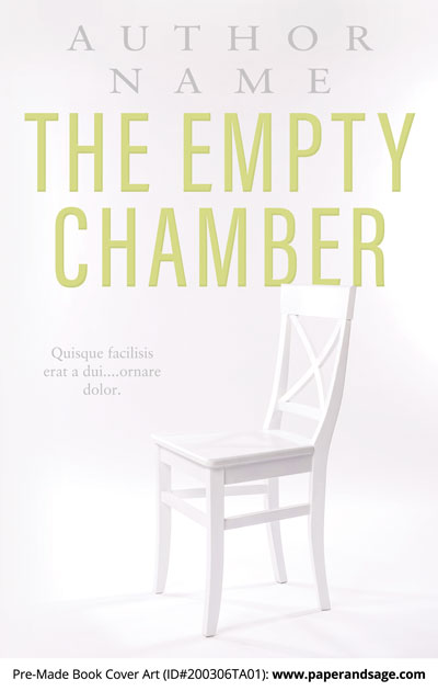 Pre-Made Book Cover ID#200307TA01 (The Empty Chamber)
