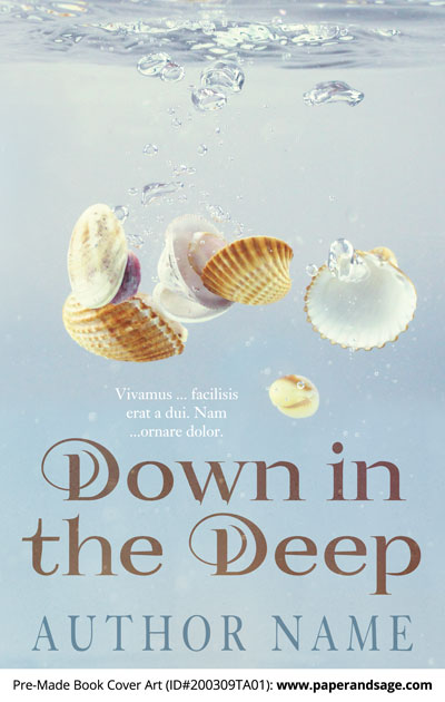Pre-Made Book Cover ID#200309TA01 (Down in the Deep)