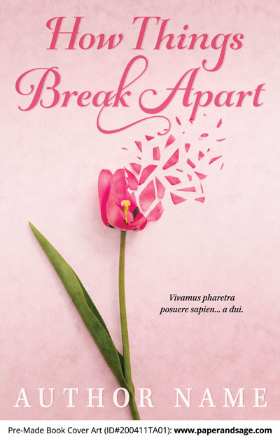 Pre-Made Book Cover ID#200411TA01 (How Things Break Apart)