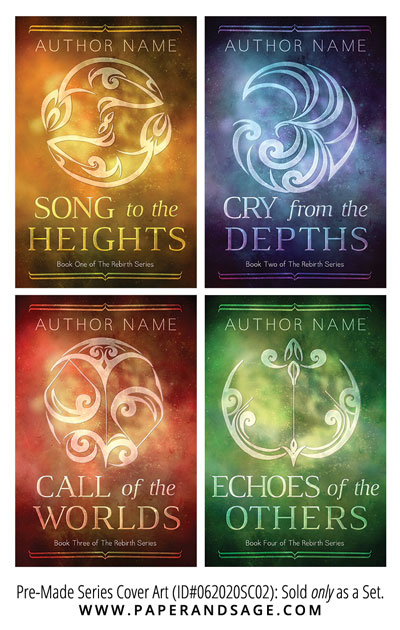 PreMade Series Covers ID#062020SC02 (Rebirth Series, Only Sold as a Set)