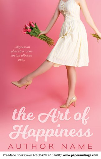 Pre-Made Book Cover ID#200615TA01 (The Art of Happiness)