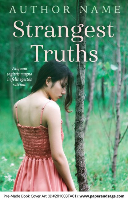 Pre-Made Book Cover ID#201003TA01 (Strangest Truths)