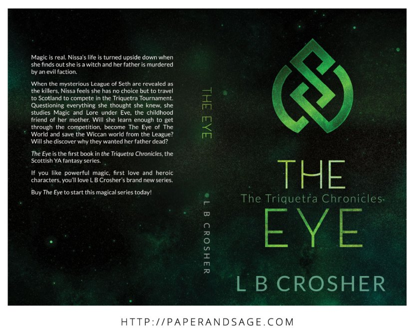 Print layout for The Eye by LB Crosher