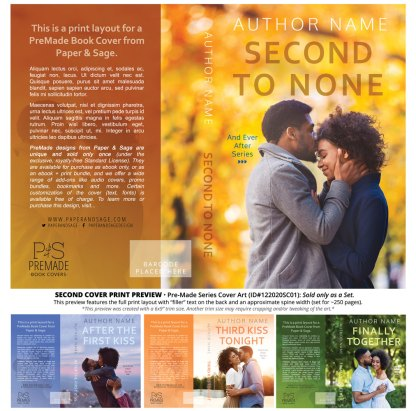 PreMade Series Covers ID#122020SC01 (Ever After Series, Only Sold as a Set)