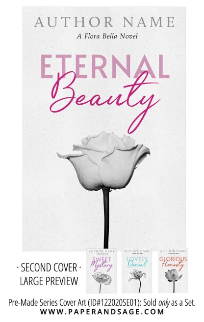 PreMade Series Covers ID#122020SE01 (Floral Bella Series, Only Sold as a Set)
