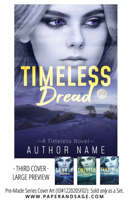 PreMade Series Covers ID#122020SF02 (Timeless Series, Only Sold as a Set)