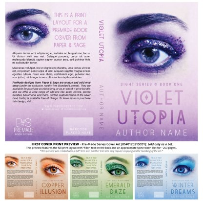 PreMade Series Covers ID#012021SC01 (Sight Series, Only Sold as a Set)
