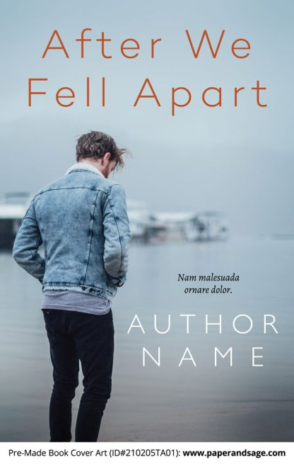 Pre-Made Book Cover ID#210205TA01 (After We Fell Apart)