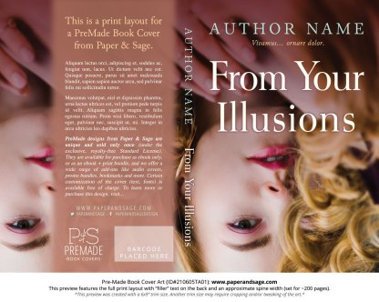 Pre-Made Book Cover ID#210605TA01 (From Your Illusions)