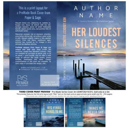 PreMade Series Covers ID#072021SC01 (Waterline Series, Only Sold as a Set)