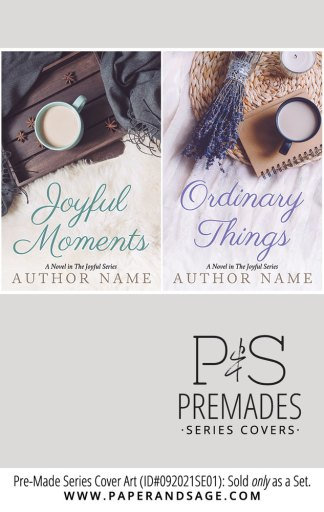 PreMade Series Covers ID#092021SE01 (The Joyful Series, Only Sold as a Set)