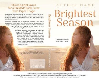 PreMade Book Cover ID#210905TA01 (Brightest Season)
