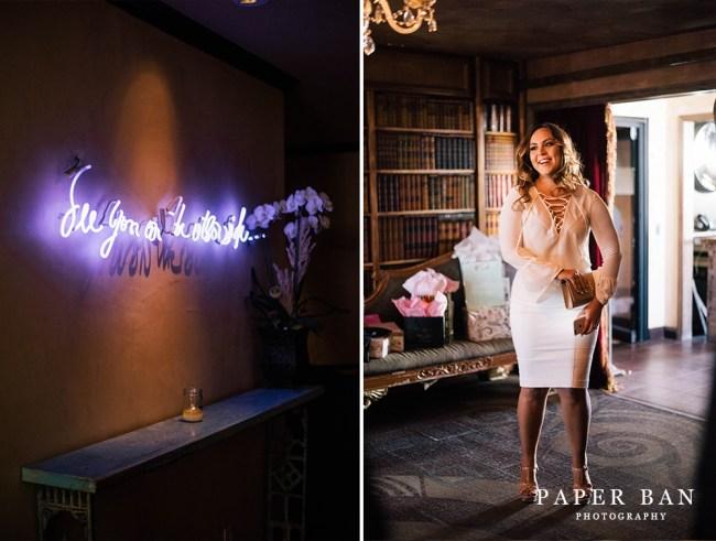Paper Ban Photograph Bridal Shower Petite Ermitage