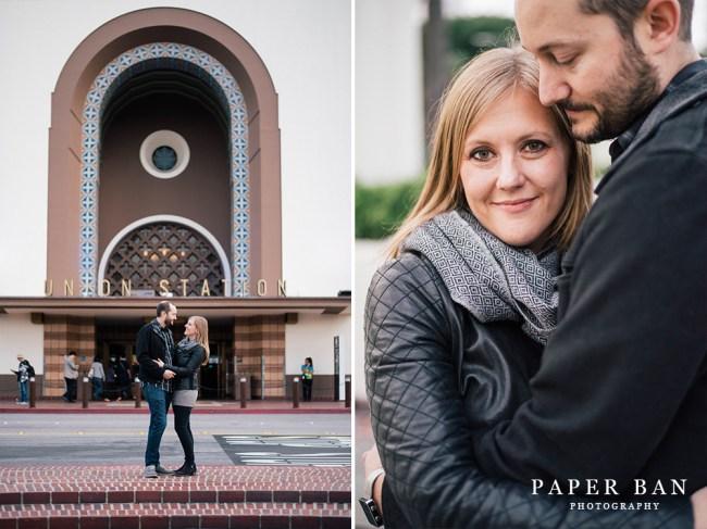 Los Angeles engagement portrait photographer