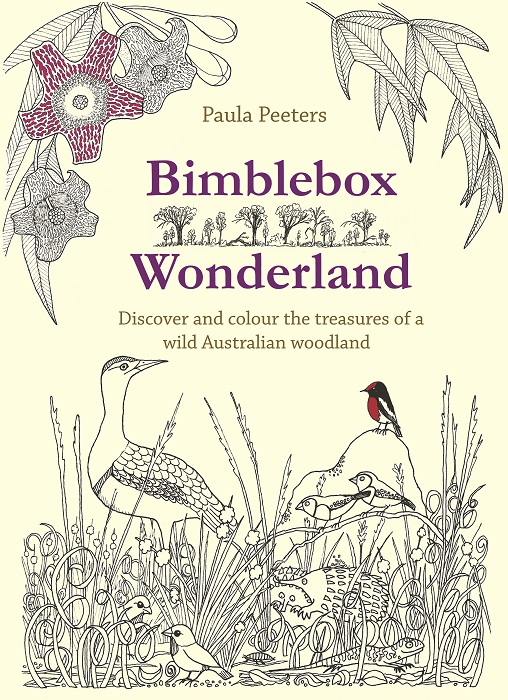 Bimblebox Wonderland colouring book