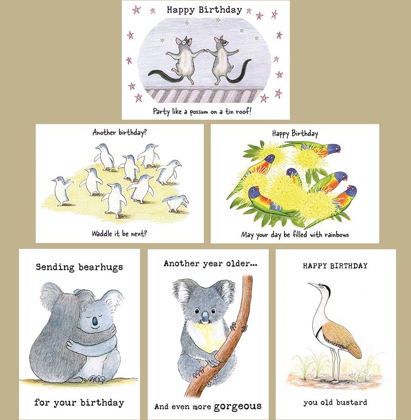 Life Birthday Cards Paperbark Writer