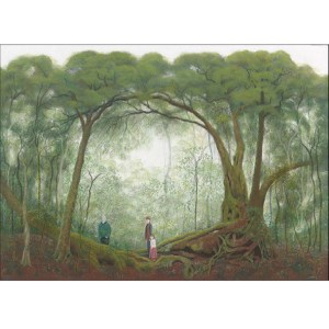 Nothofagus forest card