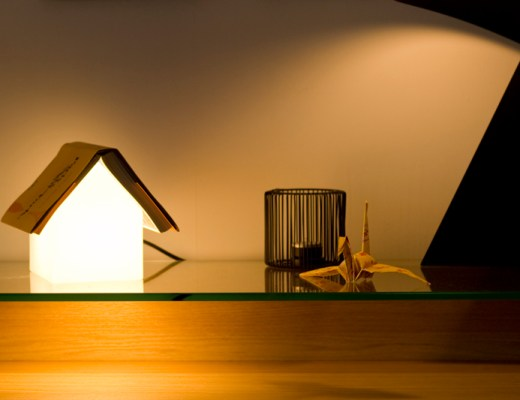 Bookrest lamp - www.paperboat.fr