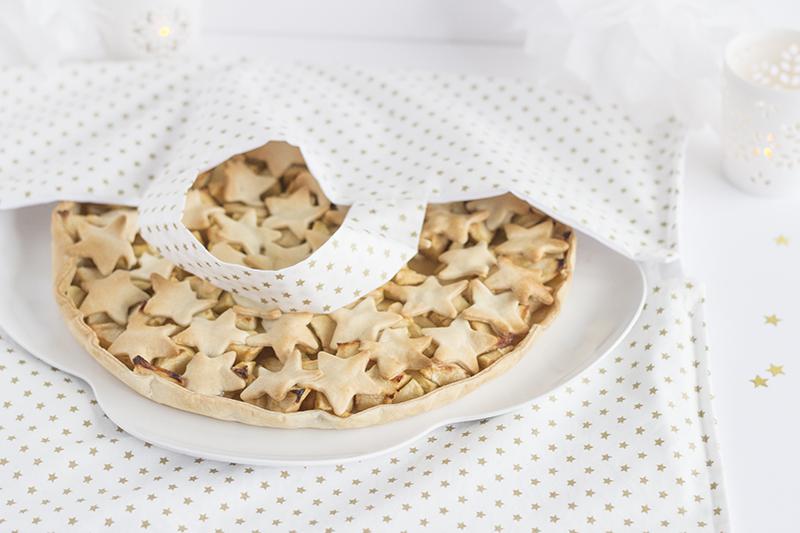 Apple pie étoilée - paperboat.fr