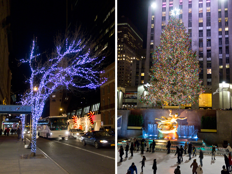 Christmas in New York, paperboat.fr