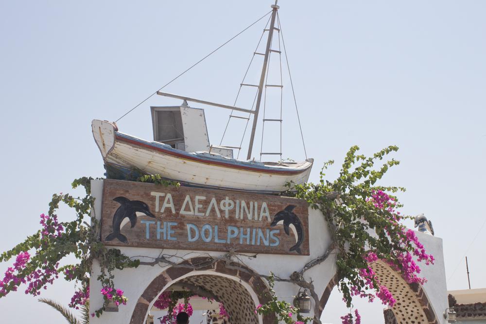 Red Beach - Santorin - Paperboat.fr