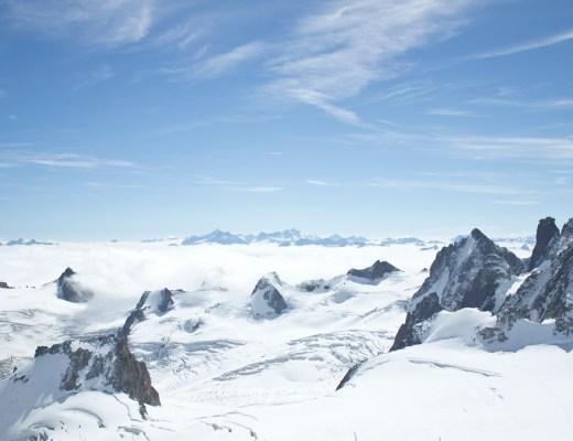 Escale à Chamonix - Aiguille du midi Mont Blanc - www.paperboat.fr