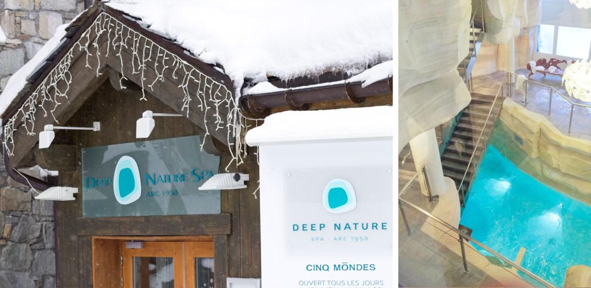 Arc 1950 - Deep nature spa Les sources de Marie - Hiver 2016 - www.paperboat.fr