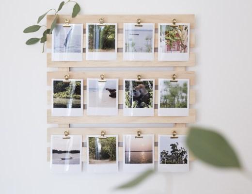DIY - palette à polaroids - www.paperboat.fr