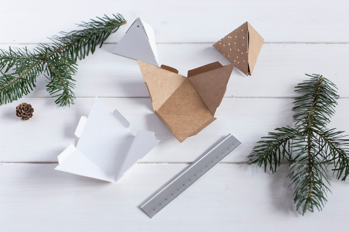 DIY table de Noël - www.paperboat.fr