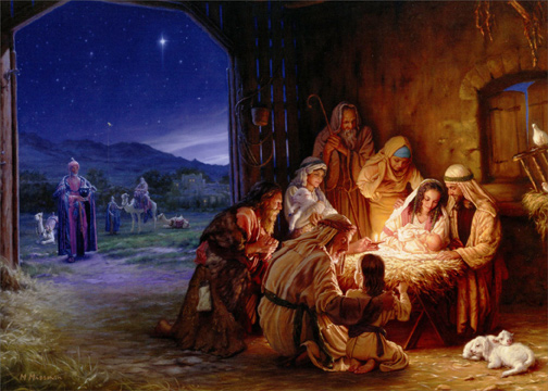 Light Of The World Religious Christmas Card By LPG Greetings